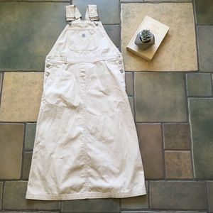 Overall khaki Cotton  Dress